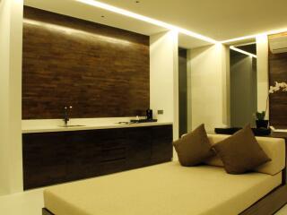 1 Bedroom Waterfall Villa Kitchen