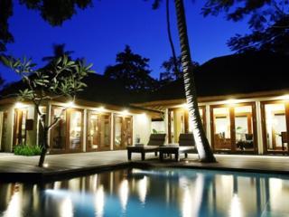 Private Villa Exterior by Night