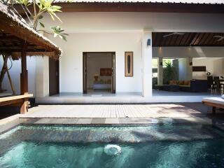 Alamanda from Pool