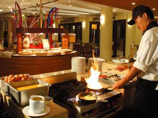 Breakfast at Sanur Plaza Hotel