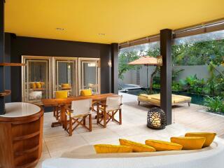 WOW 2 Bedroom Pool Villa - Living Area